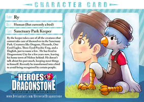 Ry the Keeper Character Card by Ry-Spirit