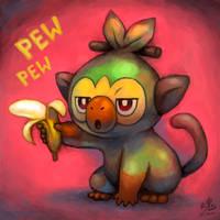 Stick 'em up! by Ry-Spirit