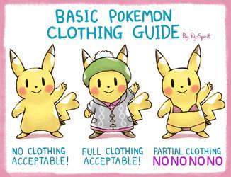 Basic Pokemon Clothing Guide by Ry-Spirit