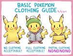 Basic Pokemon Clothing Guide