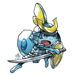 Sobble Samurai by Ry-Spirit