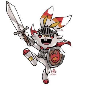 Scorbunny Knight