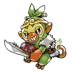 Son Grookey by Ry-Spirit