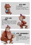 #115 Abby - #116 Abu - #117 Abominable