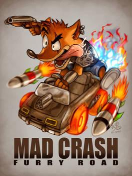 Mad Crash Furry Road