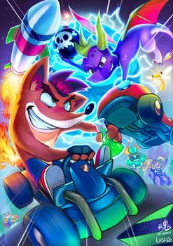 Crash v Spyro | CTR