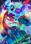 Crash v Spyro | CTR by Ry-Spirit