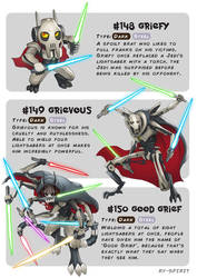 #148 Griefy - #149 Grievous - #150 Good Grief