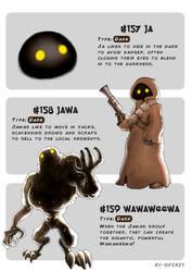 #157 Ja - #158 Jawa - #159 Wawaweewa