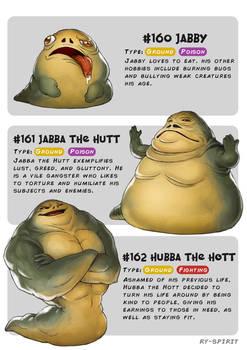 #160 Jabby - #161 Jabba the Hutt -#162HubbatheHott
