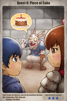Quest 8: Piece of Cake