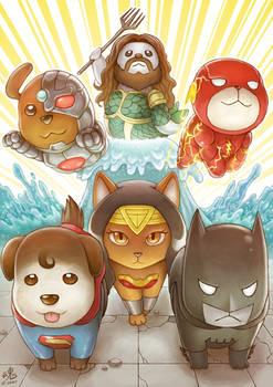 Justice League Animals