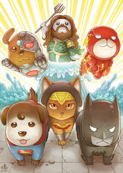 Justice League Animals