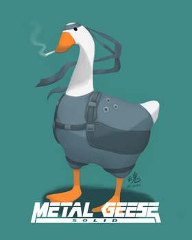 Metal Geese Solid