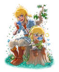 The Legend of Link Lonk by Ry-Spirit