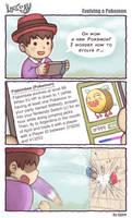 Life of Ry - Evolving a Pokemon