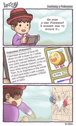 Life of Ry - Evolving a Pokemon by Ry-Spirit