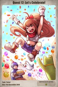 Quest 12: Let's Celebrate!