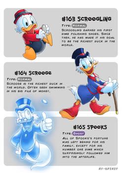 #163 Scroogling - #164 Scrooge - #165 Spooks