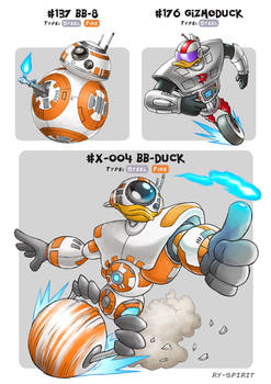#X-004 BB-Duck