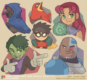 Teen Titans! (Patreon Weekly Wrap Up)