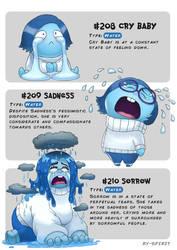 #208 Cry Baby - #209 Sadness - #210 Sorrow