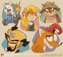 Crash Bandicoot! (Patreon Weekly Wrap Up!)
