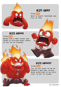 #211 Angy - #212 Anger - #213 Angery