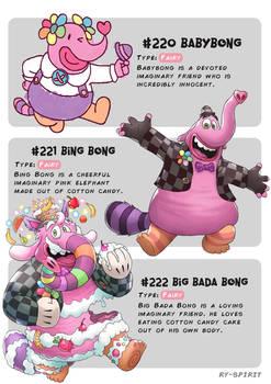#220 Babybong - #221 Bing Bong -#222 Big Bada Bong