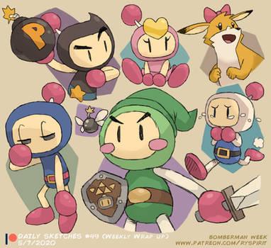 Bomberman! (Patreon Weekly Wrap Up!)