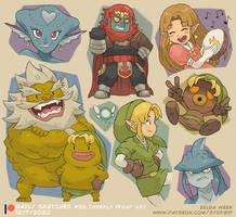Zelda! (Patreon Weekly Wrap Up!)