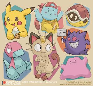 Pokemon Kanto! (Patreon Weekly Wrap Up!)