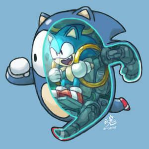 Fall Guys Sonic