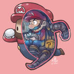 Fall Guys Mario