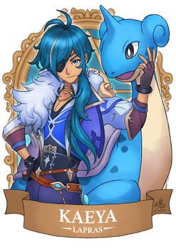 Genshin Pokemon Kaeya x Lapras