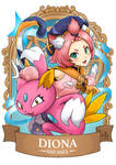 Genshin Pokemon Diona x Sneasel