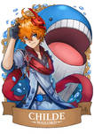 Genshin Pokemon Childe