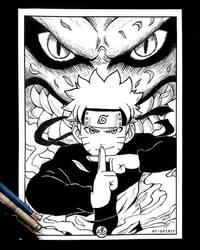 Naruto Inked Art