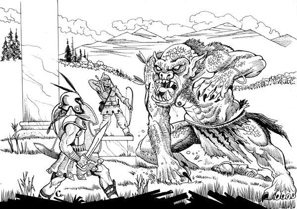 Greek ogre by Scravagghiupilusu959