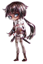 Chibi Commission: Ame by Ondie