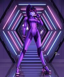 Zero Suit Widowmaker by Leo-25