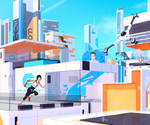 Mirror's Edge 3 - Speed-Painting by Leo-25