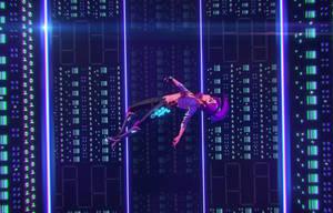 Iris falling