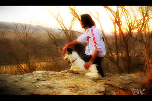 A Boy and His Dog by SpAzZnaticShuRIken
