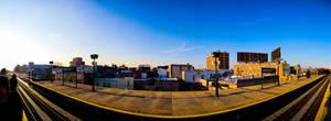 Astoria Blvd Subway Panorama by SpAzZnaticShuRIken
