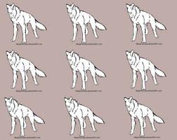 Wolf adopt base by NinjaPancake