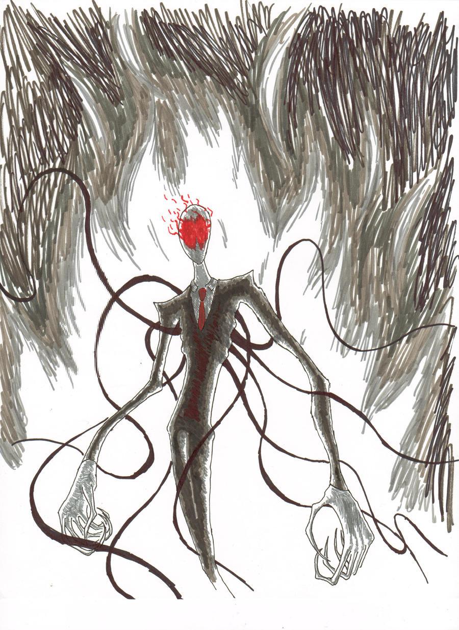 The Wrath of Slenderman by Hyperactive-Nutcase