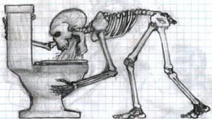 Skeleton Puke