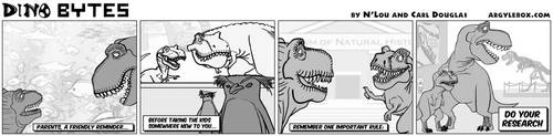 Dino Bytes - Parental Advice by CeeEmmDee