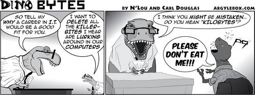 Dino Bytes - Killer Bites by CeeEmmDee